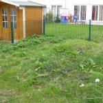 Garten linke Seite